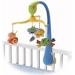 Fisher-Price Friendly Firsts Musical Mobile