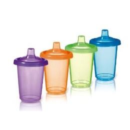 Munchkin Re-Usable Twist Tight Spill Proof Cup 4 Pack
