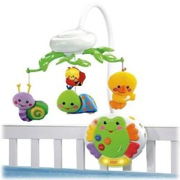 Fisher-Price Friendly Firsts Smart Response Musical Mobile